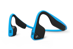 Aftershokz Treks Titanium Wireless Headphones (Ocean Blue) | 99 Bikes