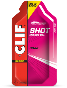 Clif Shot Raspberry Razz Energy Gel | 99 Bikes