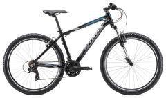 Apollo Aspire 10 Mountain Bike Gloss Black Chrome/Blue 2019)