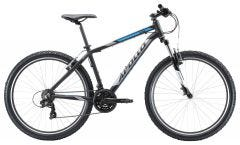 Apollo Aspire 10 Mountain Bike Matte Black/Chrome Blue (2020)
