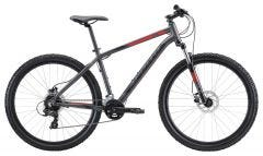 Apollo Aspire 30 Mountain Bike Charcoal Black/Red (2020)