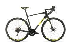 Cube Attain GTC Race Road Bike Carbon/Flashyellow (2020)