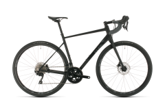 Cube Attain SL Road Bike Black/Grey (2020)