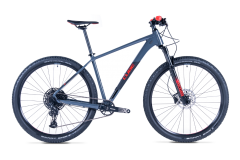 Cube Attention Mountain Bike Grey/Red (2021)