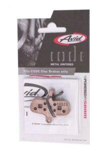 Avid Disc Brake Pad For Avid Code, Metal Sintered