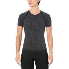 Giro Chrono Women's Short Sleeve Baselayer Charcoal