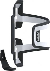 BBB Dual Attack Side Bottle Cage White