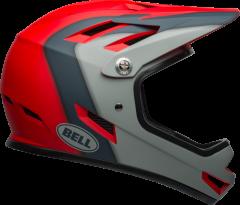 Bell Sanction Helmet Matte Crimson/Slate/Dark Grey