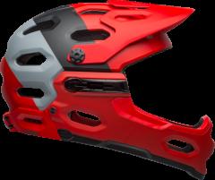 Bell Super 3R Mips Helmets Matte Crimson/Black
