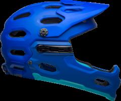 Bell Super 3R Mips Helmet Mat Blue/Bright Blue