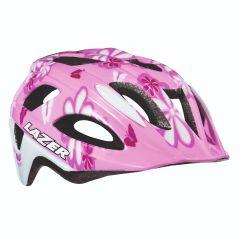 Lazer PNUT Girls Helmet Flower Pink