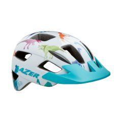 Helmet Lazer Lil' Gekko White/Dino 46-50cm