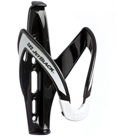 Jet Black Light Weight Bottle Cage (Black/White) | 99 Bikes