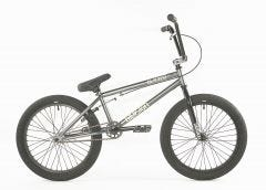 "Division Blitzer 20"" BMX Bike Gun Metal Grey Polished (2020)"