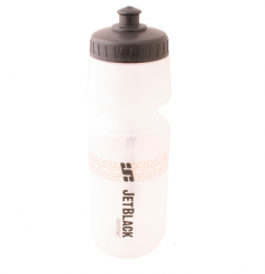 Jet Black Plastic Drink Bottle (Clear) | 99 Bikes