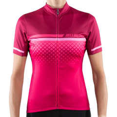 Bellwether Gradient Short Sleeve Women's Jersey Ruby