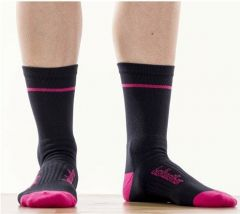 Socks Bellwether Optime Black/Berry