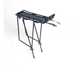Alloy Rear Rack Black for V-Brake Bike