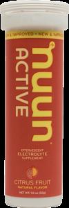 Nuun Active Citrus Hydration Tablets