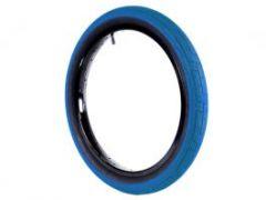 Colony Grip Lock BMX Tyre 20 x 2.2 Blue / Black Wall