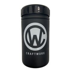 Craftworx Tool Bottle Matte Black/White