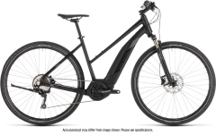 Cube Cross Hybrid EXC 500 Trapeze E-Hybrid Bike Black/Grey (2019)