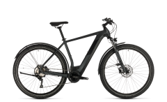 Cube Cross Hybrid Pro 500 Allroad Electric Hybrid Bike Iridium/Black (2020)