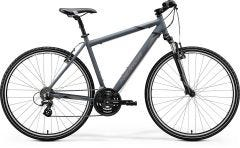 Merida Crossway 10V Hybrid Bike Matt Dark Grey/Black/Grey (2020)