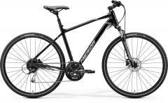 Merida Crossway 100 Hybrid Bike Metallic Black/Grey (2020)