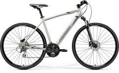 Merida Crossway 20D Hybrid Bike Silk Titan/Black/Grey (2020)