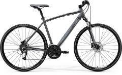 Merida Crossway 40 Hybrid Bike Silk Anthracite/Black/Silver (2020)
