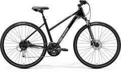 Merida Crossway 100 Women's Hybrid Bike Metallic Black/Grey (2020)