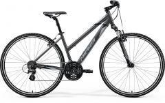 Merida Crossway 10 V Women's Hybrid Bike Silk Anthracite/Grey/Black (2021)