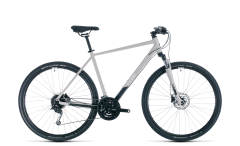 Cube Nature Pro Hybrid Bike Grey/White (2020)