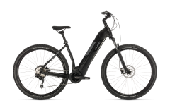 Cube Nuride Hybrid Pro 500 Electric Women's Bike Black/Grey