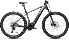 Cube Reaction Hybrid Race 625 Electric Mountain Bike Grey/Red (2021)