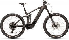 Cube Stereo Hybrid 160 HPC SL 625 Electric Mountain Bike Grey/Black (2021)