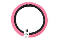 Family F2128 BMX Tyre 18x2.1 Pink with Black Wall