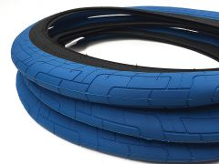 Colony Grip Lock BMX Tyre Blue/Grey 20x2.35