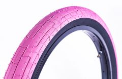 Colony Grip Lock BMX Tyre 20x2.35 Pink/Black