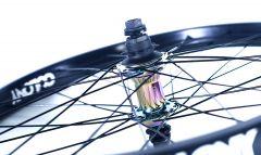 Colony Pintour Rear BMX Wheel Rainbow