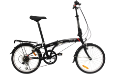 Dahon SUV D6 Folding Bike Black (2020)