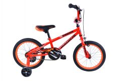 Radius Dinosaur 16 Inch Boys Bike Gloss Red/Black/Orange (2019)