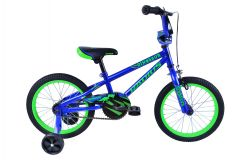 Radius Dinosaur 16 Inch Kids Bike Gloss Navy Blue/Neon Green (2019)