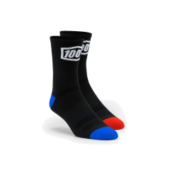 100% Terrain Performance Socks Black