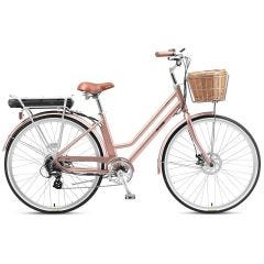 XDS E-Conic E-Cruiser Bike Rose Gold