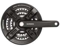 Shimano Crankset 175mm 42-32-22 Black