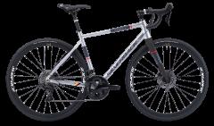 Silverback Strela Elite Disc Road Bike Silver/Watermelon (2020)