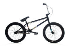 Forgotten Enigma BMX Bike 20.6 Inch TT Gloss Black (2019)