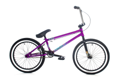 Forgotten Enigma BMX Bike 20.6 Inch TT Gloss Metallic Purple (2019)